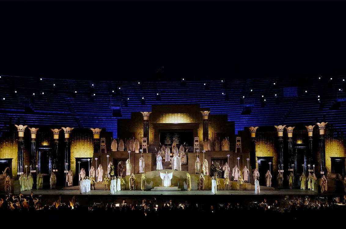 Arena di Verona - Aida di Giuseppe Verdi-